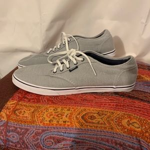 Vans TB4R striped canvas skate shoes womens 11